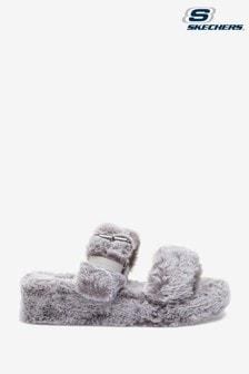 Skechers Cozy Wedge Slippers