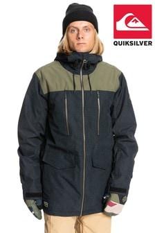 Quiksilver Black Fairbanks Snow Jacket