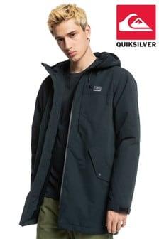 Quiksilver Black Skyward Parka Jacket