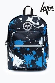 Hype. Black Splatter Utility Backpack