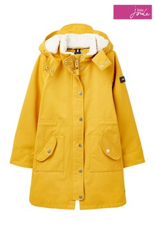 Joules Loxley Cosy Waterproof Sherpa Lined Parka