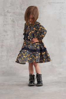 Angel & Rocket Nicole Tiered Print Dress