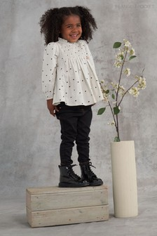 Angel & Rocket Zara  Heart Print Blouse