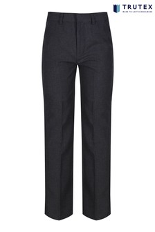 Trutex Grey Junior Boys Sturdy Fit School Trousers