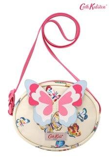 Cath Kidston Cream Novelty Butterfly Handbag