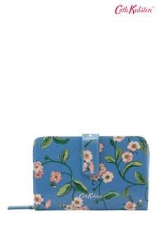 Cath Kidston Forget Me Not Blue Folded Zip Wallet