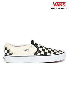 Vans Asher Checkerboard Trainers