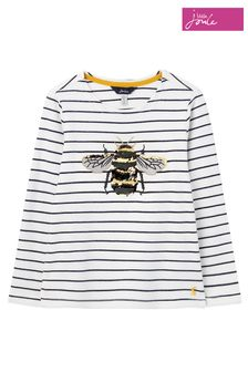 Joules White Harbour Luxe Top