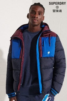 Superdry Sports Puffer Colourblock Jacket