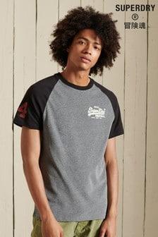 Superdry Vintage Logo AC Raglan T-Shirt