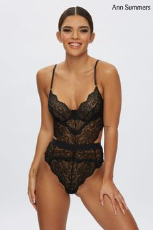 Ann Summers Black Hold Me Tight Lace Body