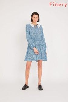 Finery Blue Rosanna Knee Length Dress