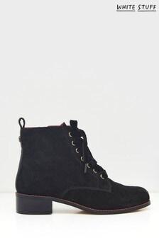 White Stuff Mathilde Lace-Up Boots