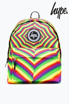 Hype. Pink Optic Rainbow Backpack