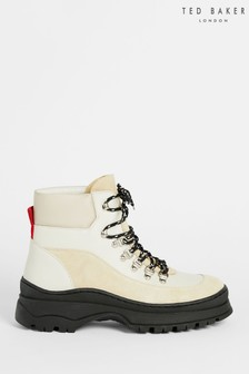 Ted Baker Allicia Leather Suede Hiker Boots