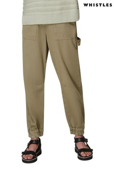 Whistles Mila Cargo Cuffed Trousers