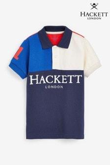 Hackett Half Split Polo