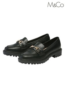 M&Co Chunky Slip-On Loafers