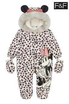 F&F Cream Minnie Mouse Pramsuit