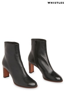 Whistles Daphne Heeled Ankle Boots