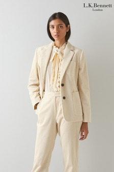 L.K.Bennett Savannah Cord Casual Jacket
