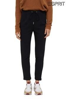 Esprit Womens Black Woven Pants