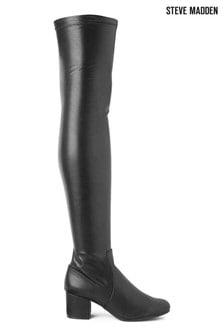 Steve Madden Black Isaac Boots