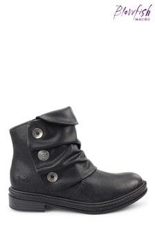 Blowfish Womens Black Kay-Kay B Vegan Ankle Boots