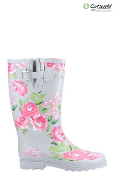 Cotswold Womens Pink Blossom Wellies