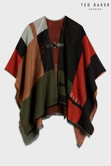 Ted Baker Sufiah Colour Block Poncho