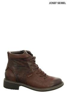 Josef Seibel Brown Selena 50 Ankle Boots