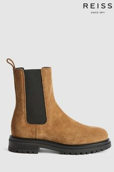 Reiss Thea Suede Chelsea Boots