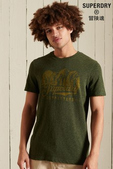 Superdry Script Style Mountain T-Shirt
