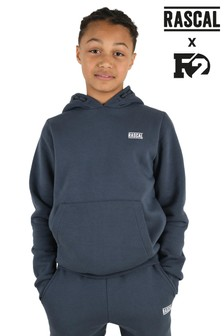 Rascal Boys Grey Essentials Hoody