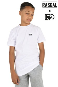 Rascal Boys White Essential T-Shirt