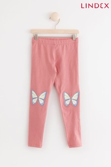 Lindex Pink Kids Leggings