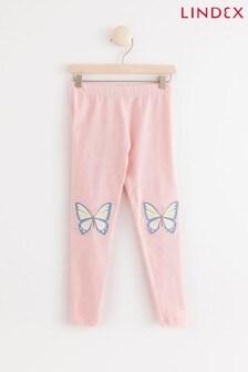 Lindex Pink/Red Kids Leggings