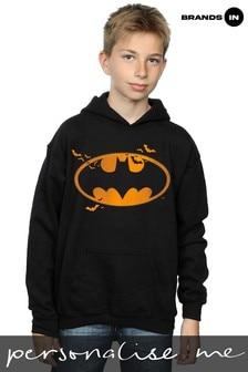 DC Originals Bats Halloween Logo Boys Hoodie by Brands In