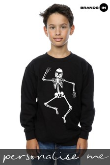 Star Wars Halloween Clone Skeleton Boys Sweatshirt by Brands In