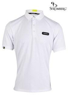 Stromberg White Putter Core Golf Polo Shirt