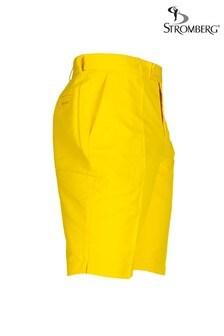Stromberg Yellow Sintra Golf Shorts