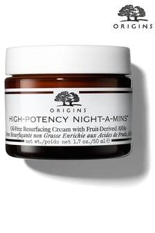 Origins High-Potency Night A Mins Resurface Cream Oil Free 50ml