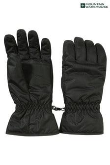 Mountain Warehouse Black Mens Ski Gloves