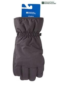 Mountain Warehouse Grey Mens Ski Gloves