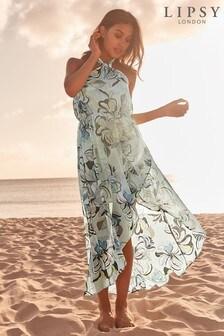 a008ed3a60 Lipsy Swirl Print Maxi Dress