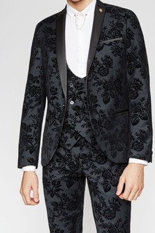 Twisted Tailor Colada Floral Suit Jacket