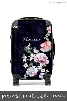 Personalised Lipsy  Naomi Floral Print  SuitCase By Koko Blossom