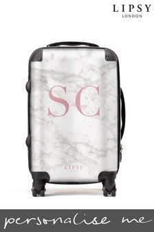 Personalised Lipsy Marble  SuitCase By Koko Blossom