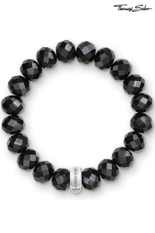 Thomas Sabo Black Charm Club Charm Bracelet