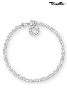 Thomas Sabo Sterling Silver Fine Charm Bracelet